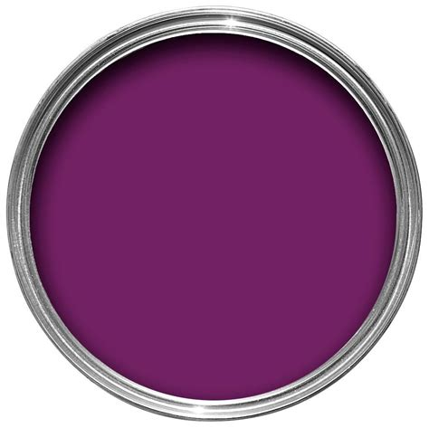 dulux made by me interior exterior purple gloss paint 750ml departments diy at b q