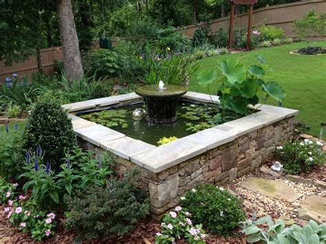 above ground koi ponds square water pool carol bill s garden in georgia water in the garden pinterest