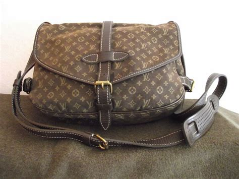 louis vuitton monogram fabric postino bag shoulder bag