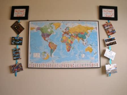 See more ideas about postcard display, disney trips, postcard. B.A. in Housewifery: Wall decor projects