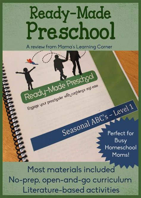 ready made preschool the open and go curriculum for busy 893 | 11a6865794782b570a8b61953ae45c74