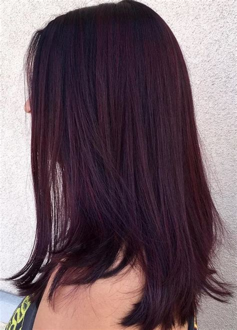 45 Shades Of Burgundy Hair Dark Burgundy Maroon