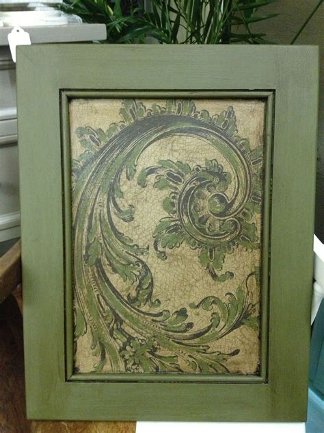 It sets the tone for the rest of your interior design. Cabinet Door Makeover with Chalk Paint® Olive, decoupage ...
