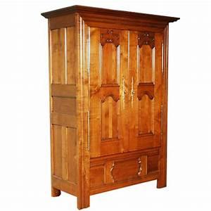 armoire leon style louis xiii louis xiv ateliers allot With meuble louis xiii