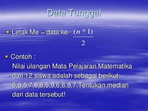 Bahan Ajar Statistika