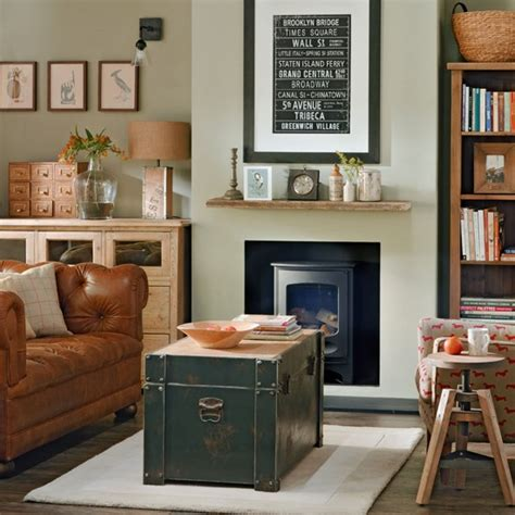 classic vintage living room housetohomecouk