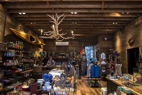 an outdoor lifestyle shop and fly fishing depot in cold
