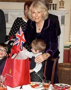 The Duchess of Cornwall invites sick children to decorate ...