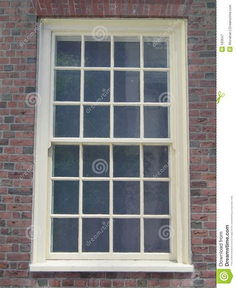 colonial window stock image image  hiding rectangle