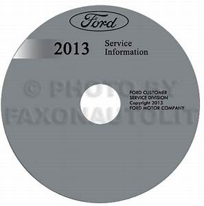 2013 Ford Escape Repair Shop Manual On Cd