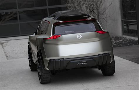 dramatic  motion concept previews future nissan suv