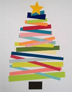 Weihnachtsbaum Basteln Aus Papier : 100 tolle weihnachtsbastelideen ~ Lizthompson.info Haus und Dekorationen