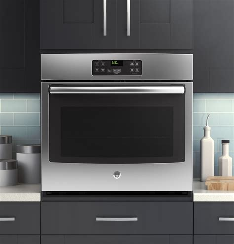 jtsfss ge  built  single wall oven stainless steel