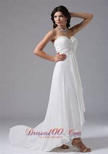 custom made high low in carmel valley california for With wedding dresses california