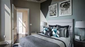 decoration chambre taupe et bleu visuel 7 With chambre bleu et taupe