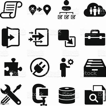 Technology Icons Vector Migration Clip Series Animal
