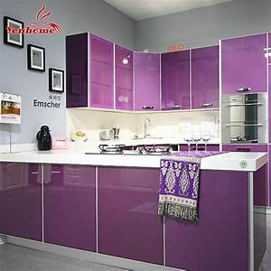 3m diy decorative film pvc waterproof self adhesive for Best brand of paint for kitchen cabinets with modular wall art