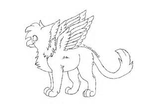 Cute Baby Griffin Drawings