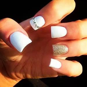 white nail designs tumblr