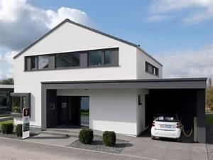 Garage Mit Pultdach : einfamilienhaus concept m design von bien zenker weniger ~ Michelbontemps.com Haus und Dekorationen