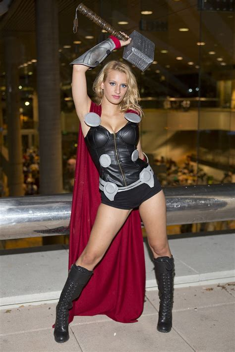 Thor Gender Bender Cosplay By Nicole Marino Aka Call