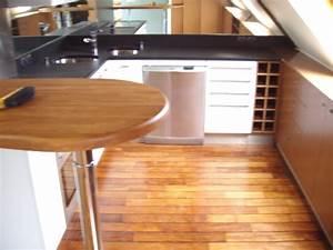 Cuisine Avec Parquet : evadez vous avec un parquet en pont de bateau ~ Melissatoandfro.com Idées de Décoration