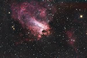 Horseshoe Nebula Messier 17 - Pics about space