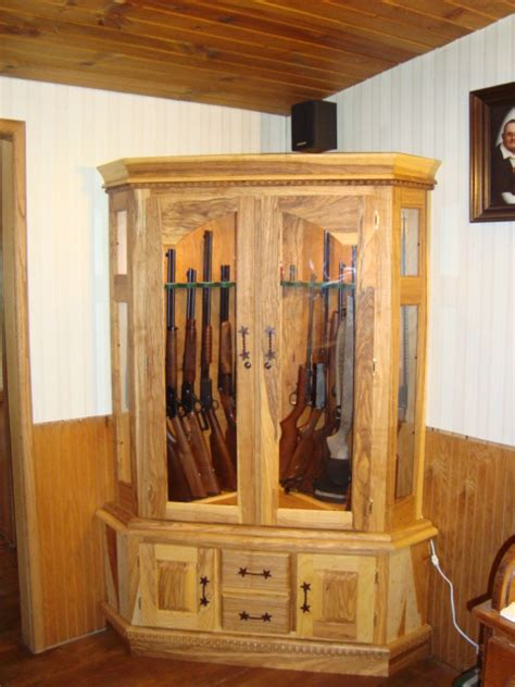 wood projects gun cabinet  woodworking