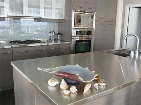 cost of stainless steel countertops marvelous kitchen with stainless steel countertops my