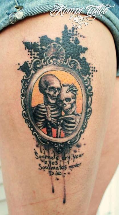 skeleton love love tattoos  love   pinterest