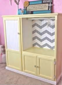 Metal Pantry Cabinet by Turn An Entertainment Center Into A Kids Armoire Diy