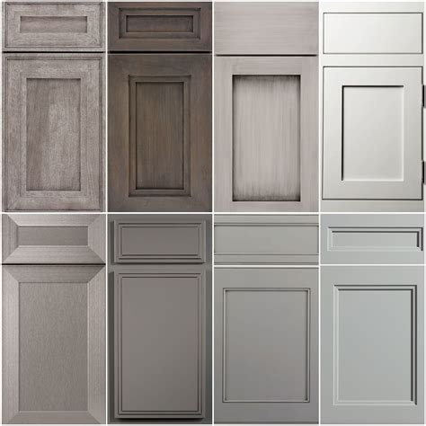 Shaker Style Cupboard Doors shades of grey a collage of our favourites shaker style