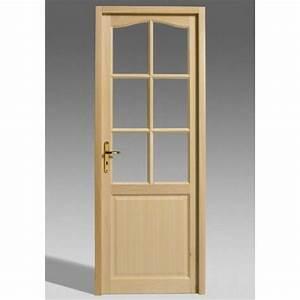 Choisir une porte vitree interieure pour la maison for Porte de garage coulissante et porte de service vitrée