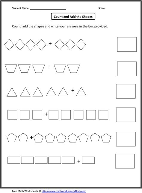printable k5 math worksheets homeschool