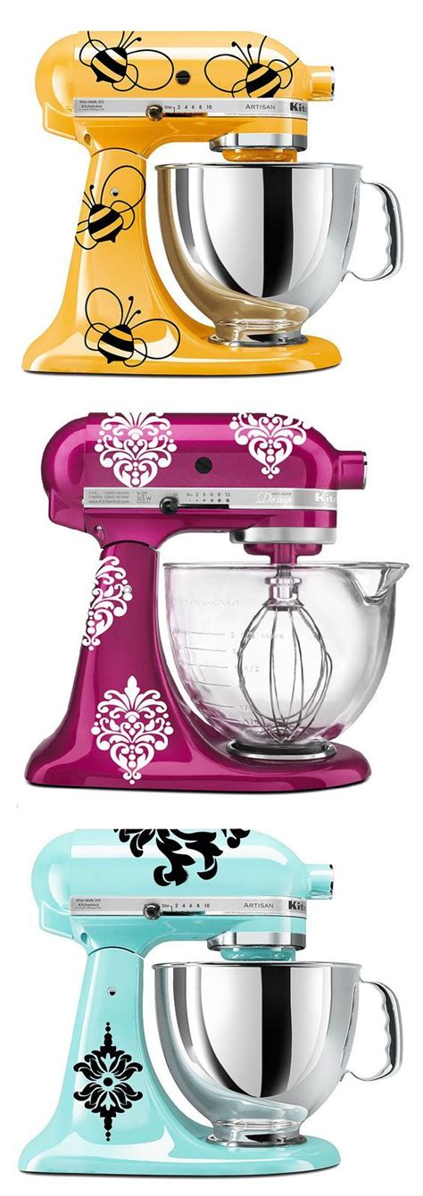 Kitchenaid Bar Appliances by Kitchenaid Mixer Decals This Idea Things I