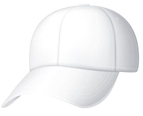 Baseball Hat White Baseball Cap Clipart 0