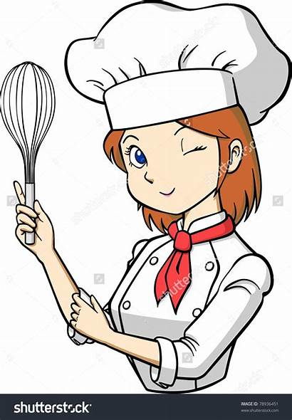 Chef Clipart Woman Clipartmag