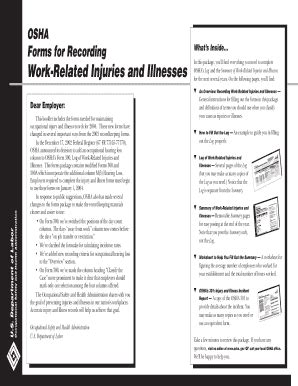 24 printable osha form 300 templates fillable sles in
