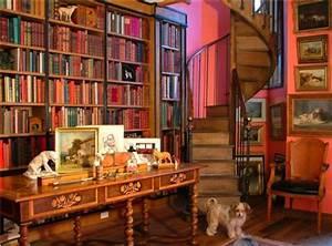 Decoración de interiores: Ideas de Diseño de Bibliotecas ...