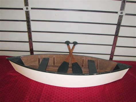 Mini Boat Oars by Lot Detail Rustic Cabin Decor Mini Wooden Boat With Oars