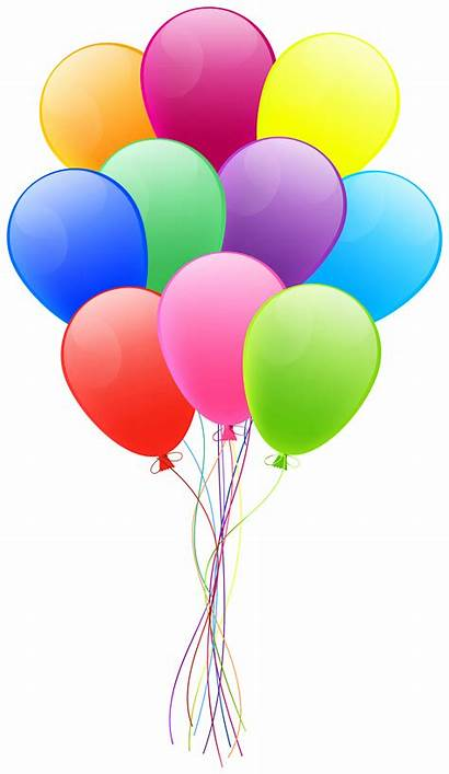 Balloons Bunch Clipart Transparent Yopriceville