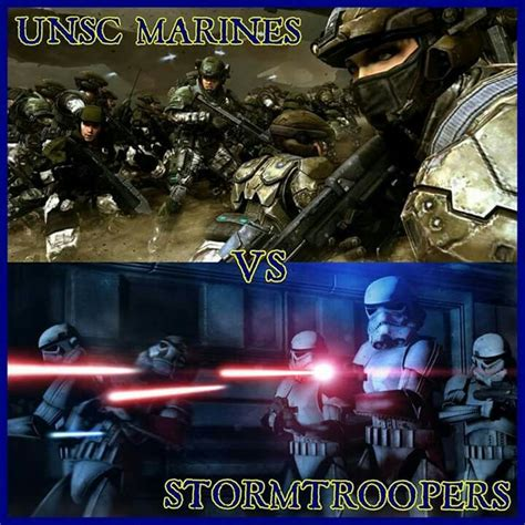 halo  star wars unsc marines  stormtroopers