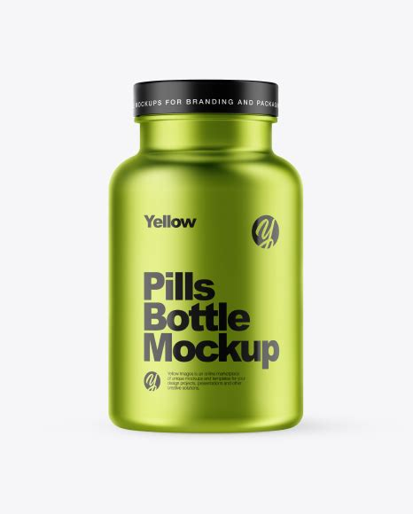 Placeit has a great catalog of medical product mockups that you can use as your own! Download Psd Mockup Bottle Capsules Medicine Metallic ...