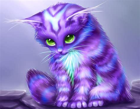 Permalink to Fantasy Kittens Wallpaper