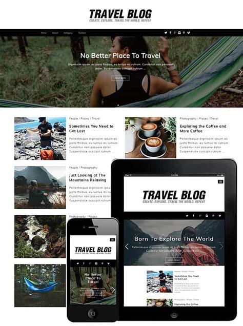 travel blog wordpress theme  travel theme