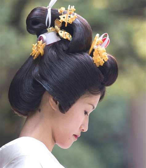 japanese traditional hairstyles images