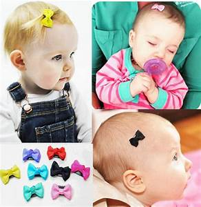 5 Pcs/lot Candy color Baby Mini Small Bow Hair Clips ...