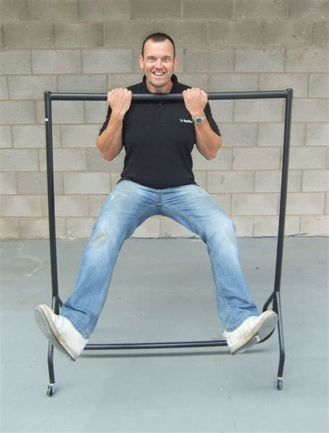 super heavy duty clothes rail ft long  ft high metal