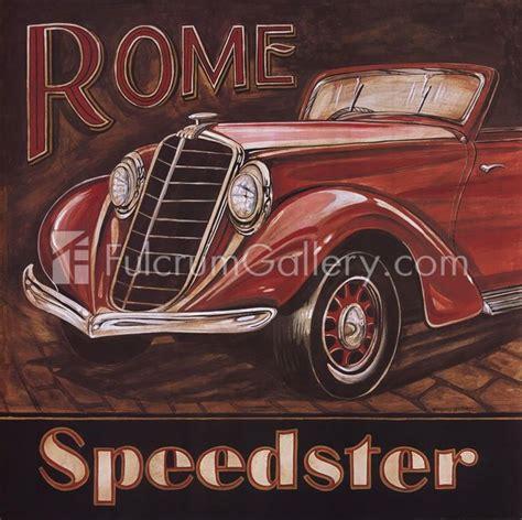 Ferrari roma vs lamborghini huracán evo rwd. Gregory Gorham Rome Speedster (With images)   Vintage posters, Antique cars, Vintage printables