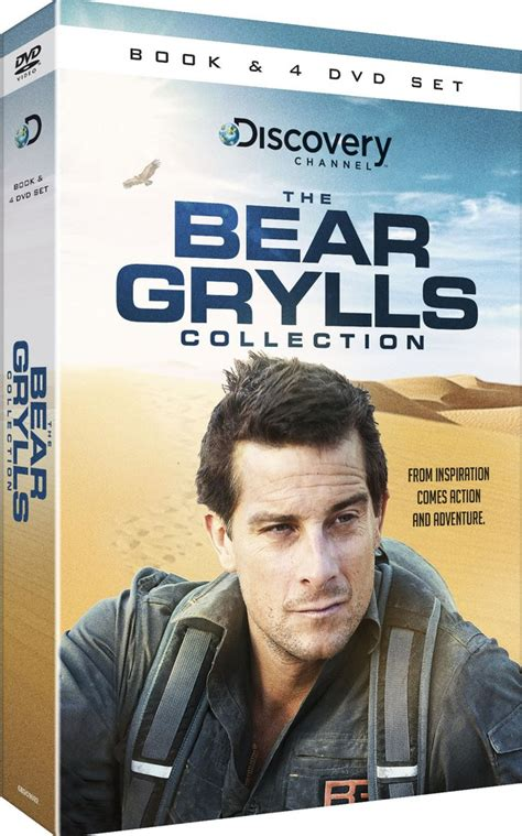 bear grylls collection includes book dvd zavvicom